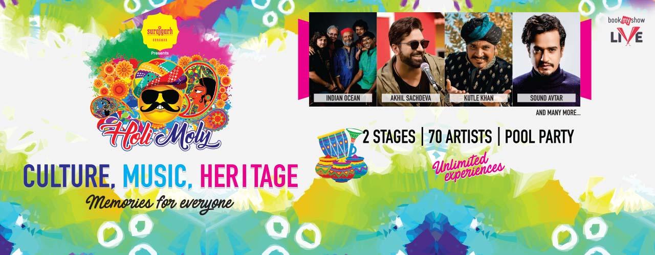 holi events in delhi