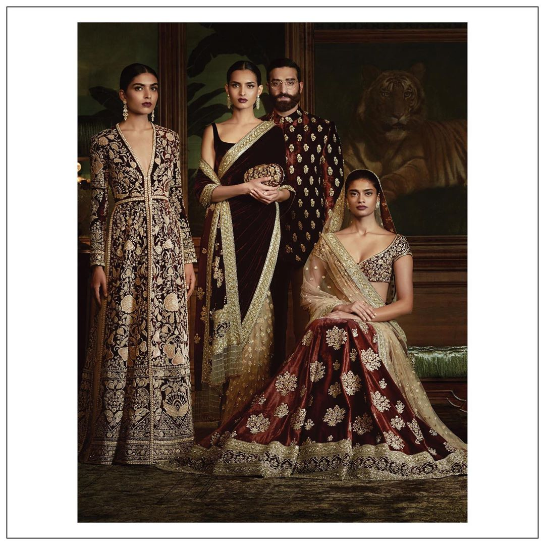 Newcollectionalert Winter Wedding Collection By Sabyasachi Is A Delight To Our Eyes Setmywed